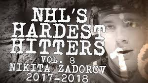 Biggest Nikita Zadorov Hits of 2018   NHL