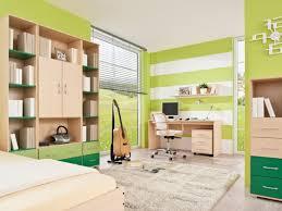 green kids study room design children study room design