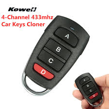Universal <b>Four</b> Keys <b>Electric</b> Gate Garage Door Fob 433mhz Cloner ...