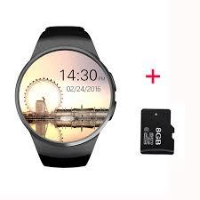 LEMFO KW18 <b>Bluetooth smart watch</b> full screen Support SIM TF ...