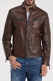 <b>Кожаная куртка IPARELDE</b> арт E1011_CHESTNUT CHESTNUT ...