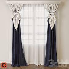3d модели: Шторы - Curtain   Decoración   Шторы для гостиной ...