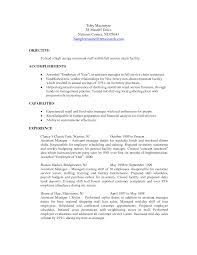 assistant assistant manager duties resume assistant manager duties resume templates full size
