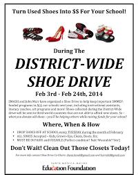 santa monica schools holding a district wide shoe drive college microsoft word vss shoe drive flyer v4 docx
