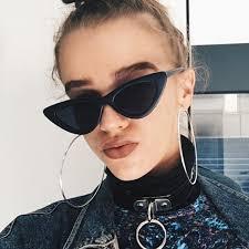 <b>CURTAIN Gafas De Sol</b> Mujer 2019 New Retro Triangle Cat Eye ...