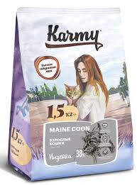 <b>KARMY</b> Adult Cat <b>Maine</b> Coon Turkey - <b>Сухой корм</b> для Кошек ...
