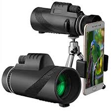 Buy Leoie <b>40X60 HD High</b> Power Prism Monocular Telescope ...