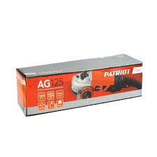 Сетевая угловая <b>шлифовальная машина Patriot AG</b> 125 00 ...