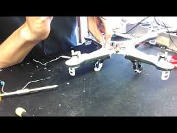 Syma x5c-1 motor replacement - YouTube
