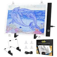 Magicfly <b>Diamond Painting A4 LED</b> Light Pad, Tracing Light Box for ...