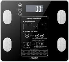 Teeker 180kg/100g Digital Body Fat Scale Health ... - Amazon.com