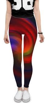 <b>Леггинсы Леггинсы</b> abstract с вихрем красок #2801578 – заказать ...