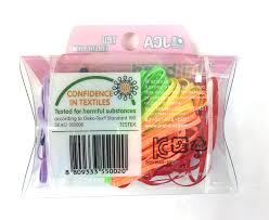 Vivid <b>Colored TPU</b> Hair Elastic Band(<b>Solid color</b>), Colorful, non ...