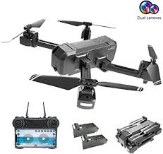 Drones with Camera for Adults 1080P, EMISK WiFi ... - Amazon.com