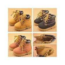 Meigar Baby Kids <b>PU</b> Leather <b>Snow Boots</b> Fur Lined <b>Winter Warm</b> ...