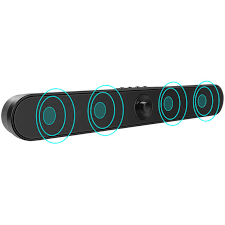 Bluetooth Separable Soundbar with Built in Subwoofer, Wired and ...