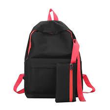 <b>2pcs</b>/<b>set</b> Fashion Teenage Girls <b>Oxford Backpack</b> Preppy Shoulder ...