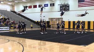 neuqua valley high school junior varsity cheerleaders in neuqua valley high school junior varsity cheerleaders in competition