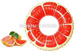 <b>70cm Inflatable</b> Grapefruit Pool Toy <b>Kid Child Baby</b> Orange ...