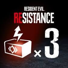 RESIDENT EVIL RESISTANCE - <b>Набор из 3</b> ОР-бустеров на PS4 ...