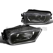 1997 2000 bmw e39 528i 540i clear lens driving fog lights z3 bumper lamps black black bmw z3 1997