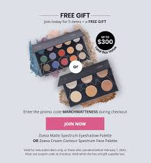 BOXYCHARM Coupon: FREE <b>Zoeva Palette</b> with March 2020 Box ...