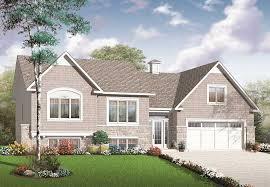 Split Level or Multi Level House Plans   The Plan CollectionSplit Level House Plans