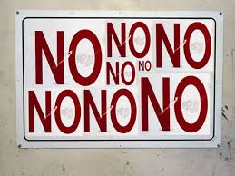 Image result for saying NO to life