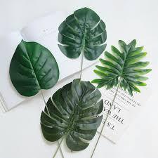 12 шт. искусственная <b>пальма</b> папоротник черепаха листья ...