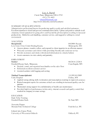sample resume summary of qualifications resume templates sample resume summary of qualifications resume qualifications examples resume summary of medical transcriptionist sample resume summary