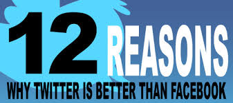 12 Reasons Why Twitter Is Better Than Facebook | Social Media ...