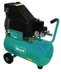<b>Компрессор масляный Wert AC</b> 300/24, 24 л, 1.5 кВт — купить по ...