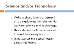 science as knowledge and mode of inquiry theme lectures  ppt  science andor technology  write a short oneparagraph essay