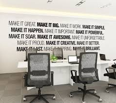 office wall art corporate office supplies office decor office art typography decal office sticker office sign skumib beautiful business office decorating ideas