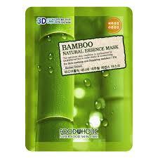 <b>Тканевая 3D маска</b> с бамбуком FoodaHolic Bamboo Natural ...