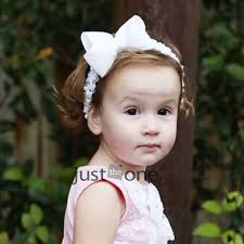 Cute Infant Baby Girl Kids Children Bowknot Princess Angel Hair Band Headbands | eBay - 4204010-1