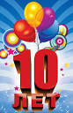 Поздравления на 10 лет другу