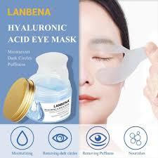 LANBENA <b>Retinol Eye Mask</b> Hyaluronic Acid Eye Patches Serum ...