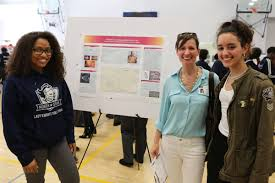 newark high school students conduct research at local universities willma arias de la rosa and xaymara rivera who did research at princeton plasma physics lab shannon swilley greco a science education program leader