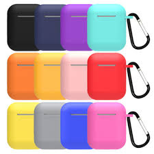 1Pcs TPU <b>Silicone</b> Bluetooth Wireless <b>Earphone Case for</b> Airpods ...