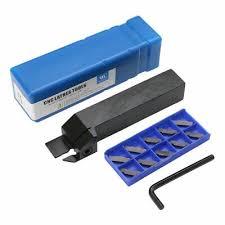 1pcs boring tool 10pcs grooving inserts mgehr1616 1 5 2 3 4 16mm petiole cnc turning tool