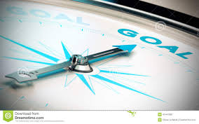 setting goals and achieve them stock illustration image  setting goals and achieve them