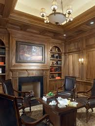 beautiful home office home office traditional home office idea in chicago with a stone fireplace beautiful home office design ideas traditional