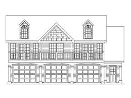 Carriage House Plans    Car Carriage House Plan   G  at    Front View  G