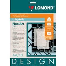 <b>Lomond Fine Art</b> Paper Design Labyrinth Matt A4, 200g/m2, 10 ...