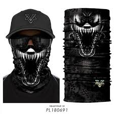 <b>3D</b> Ski Balaclava Neck Buffs Face Mask Motorcycle <b>Venom</b> Skull ...