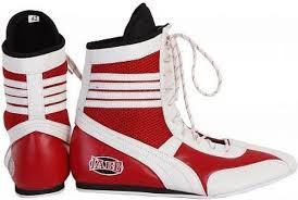<b>Боксерки Jabb JE-3204</b> красно-белые, размер 43