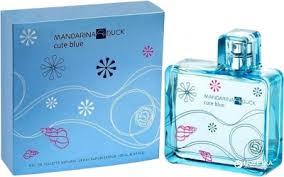 <b>Туалетная</b> вода для женщин Mandarina Duck <b>Cute Blue Woman</b> ...