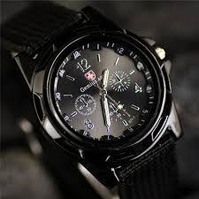 reloj hombre New Brand Sport <b>Watches Men</b> Leather Nylon <b>Military</b> ...