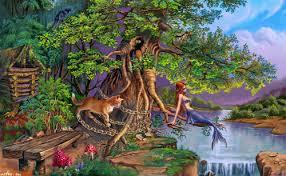 Сказка <b>У лукоморья дуб зелёный</b> - А.С. Пушкин. Читать онлайн